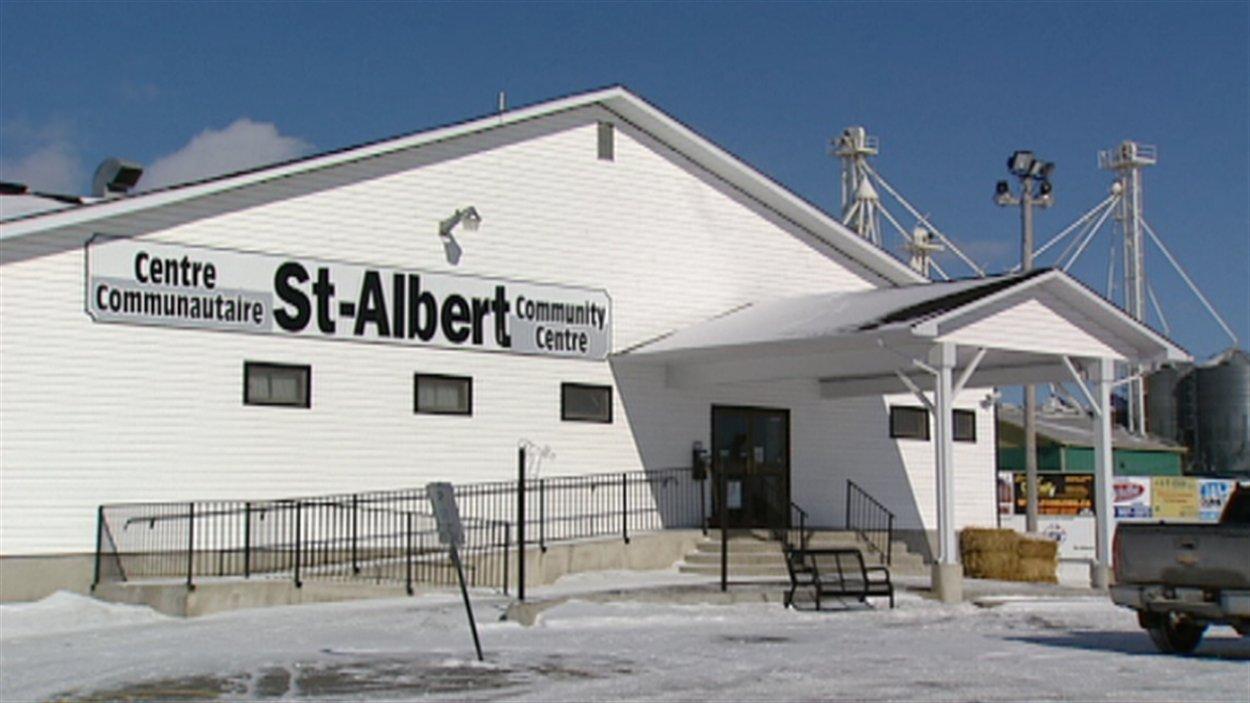 Le centre communautaire de Saint-Albert