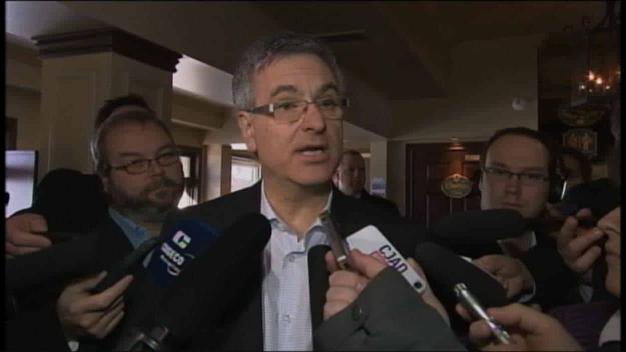 Le chef intérimaire du PLQ, Jean-Marc Fournier