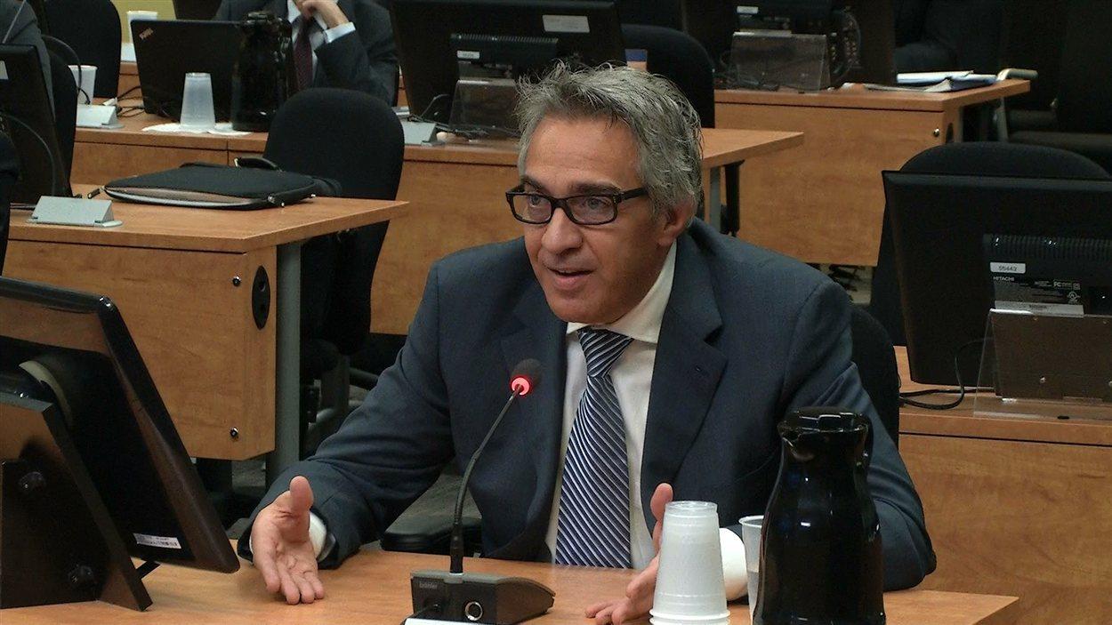 Giuseppe Borsellino devant la commission
