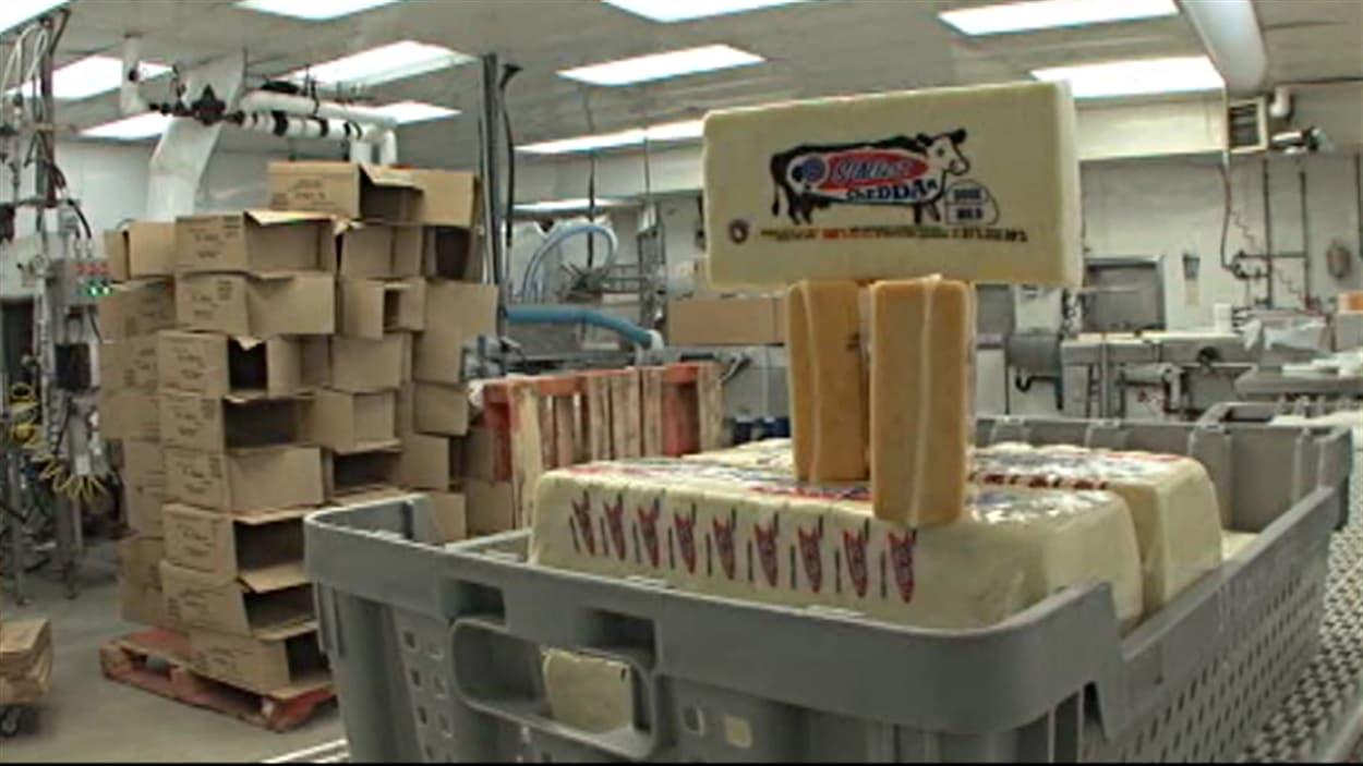 La perte de la fromagerie St-Albert est estimée à 25 millions de dollars.