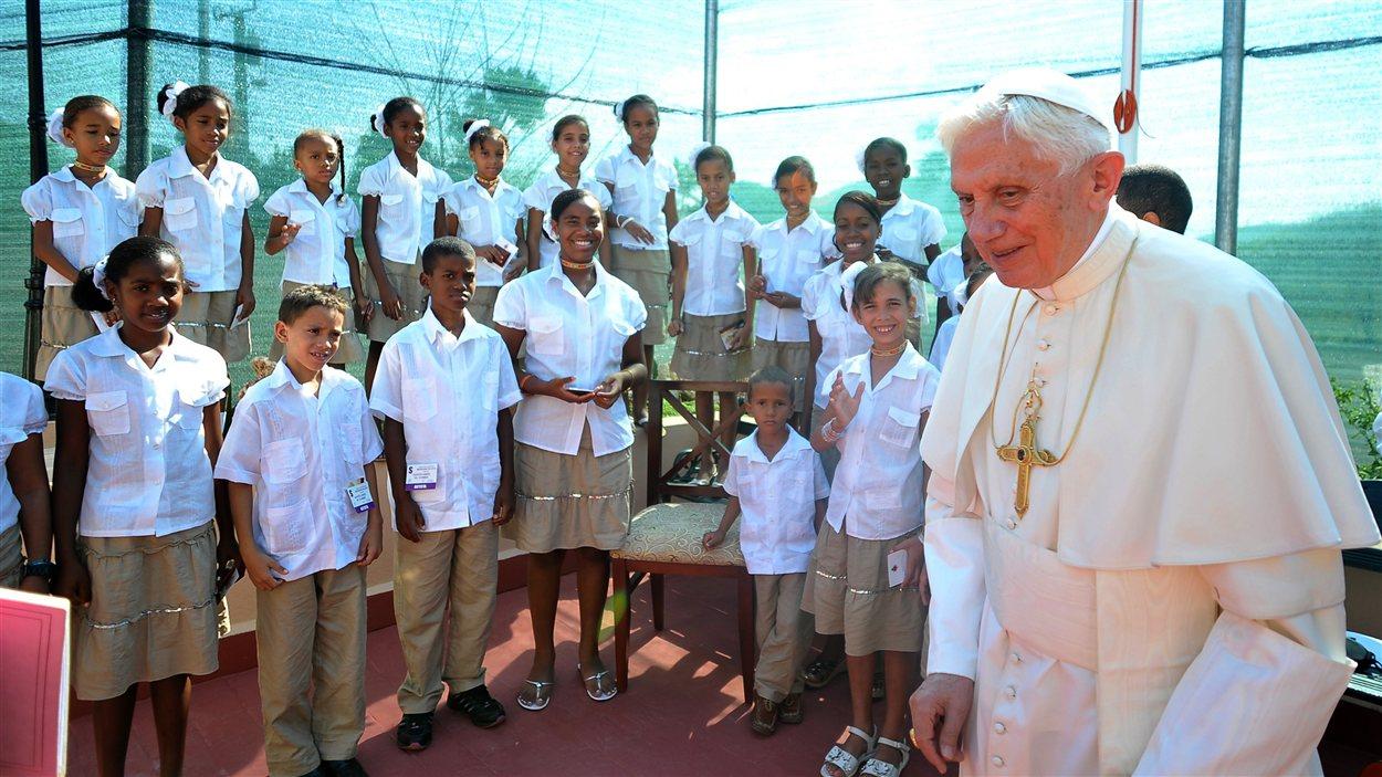 Le pape à Cuba le 27 mars 2012
