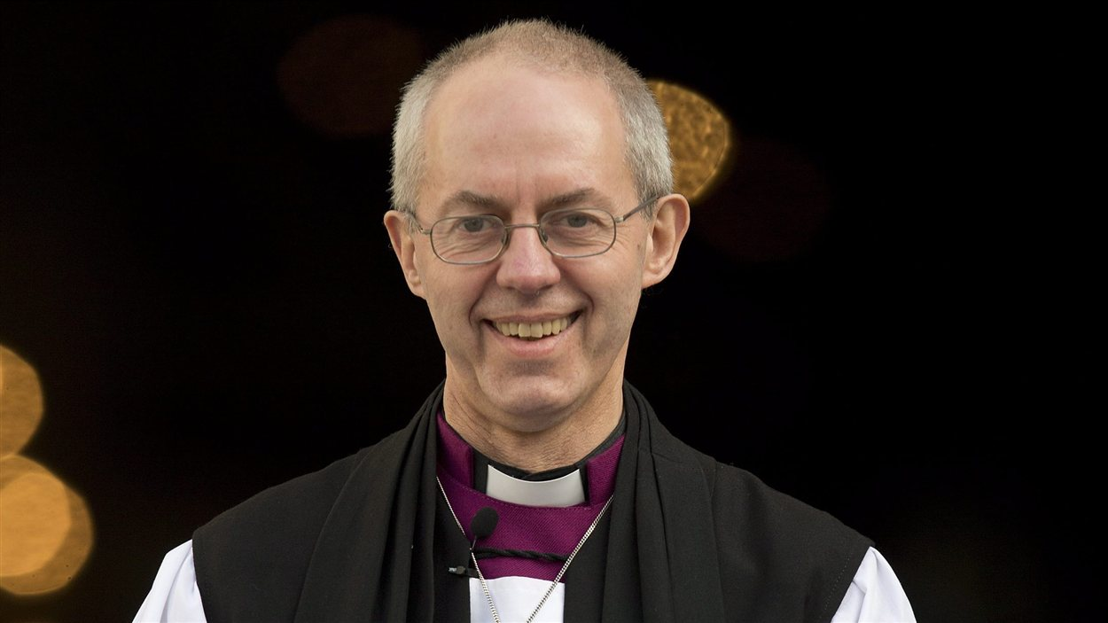 L'archevêque de Canterbury, MGR, Justin Welby