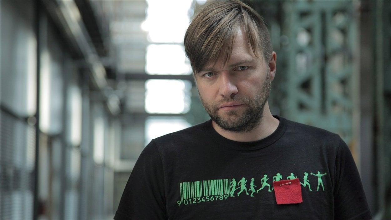 Le réalisateur Rafaël Ouellet