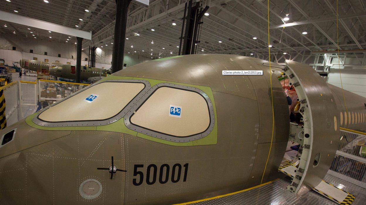 CSeries de Bombardier