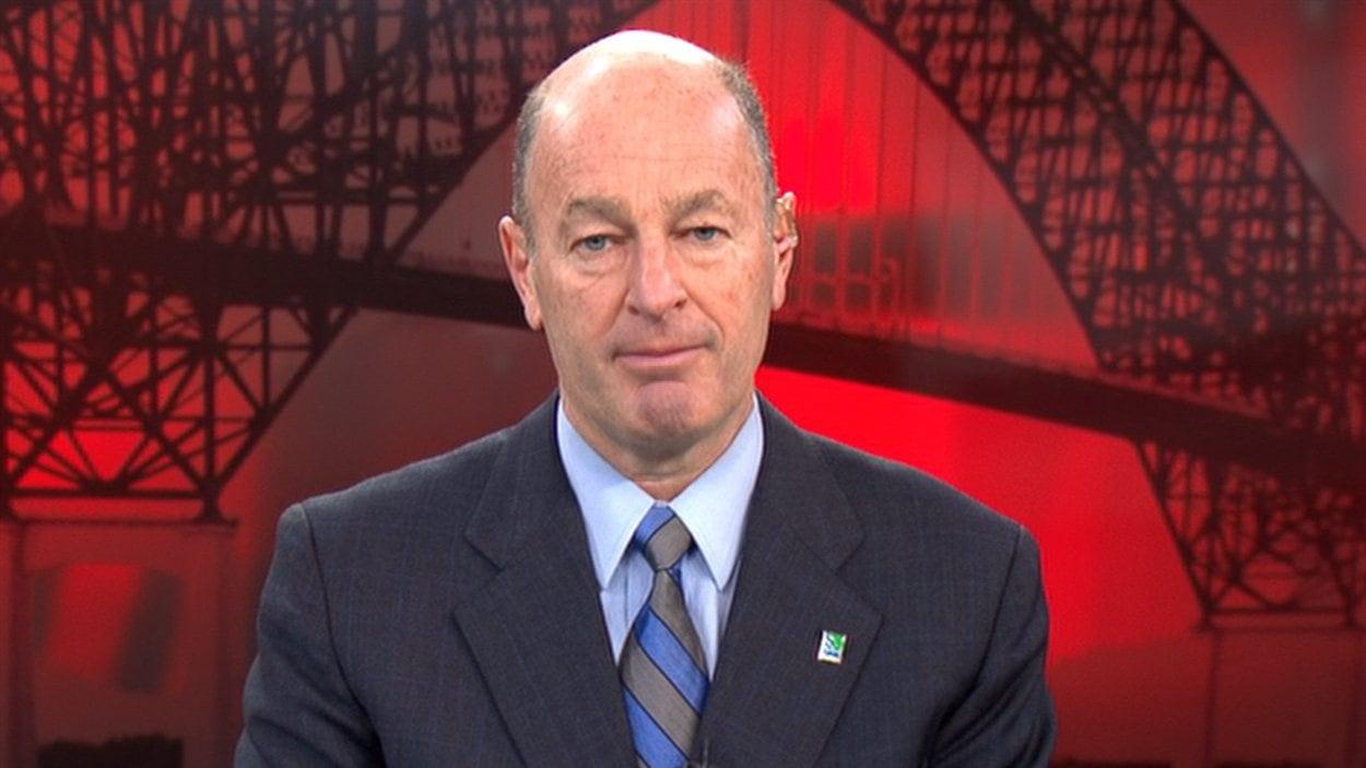 Le maire de Trois-Rivières Yves Lévesque