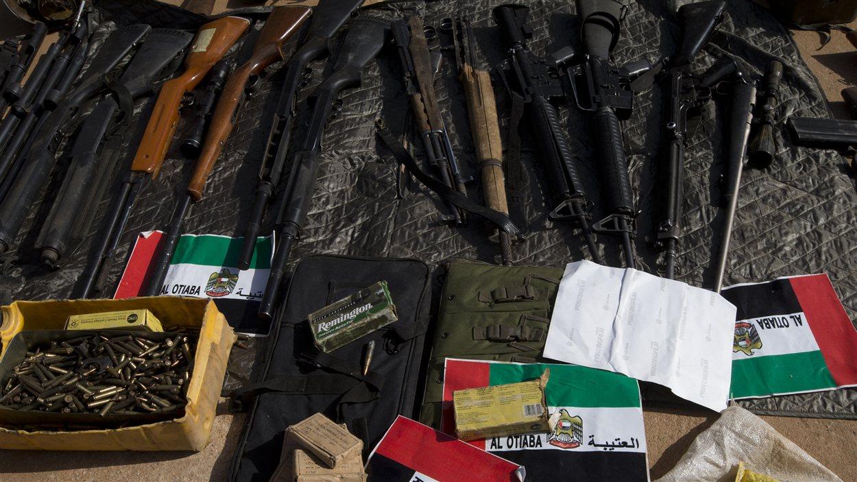 Des armes retrouvés à Gao