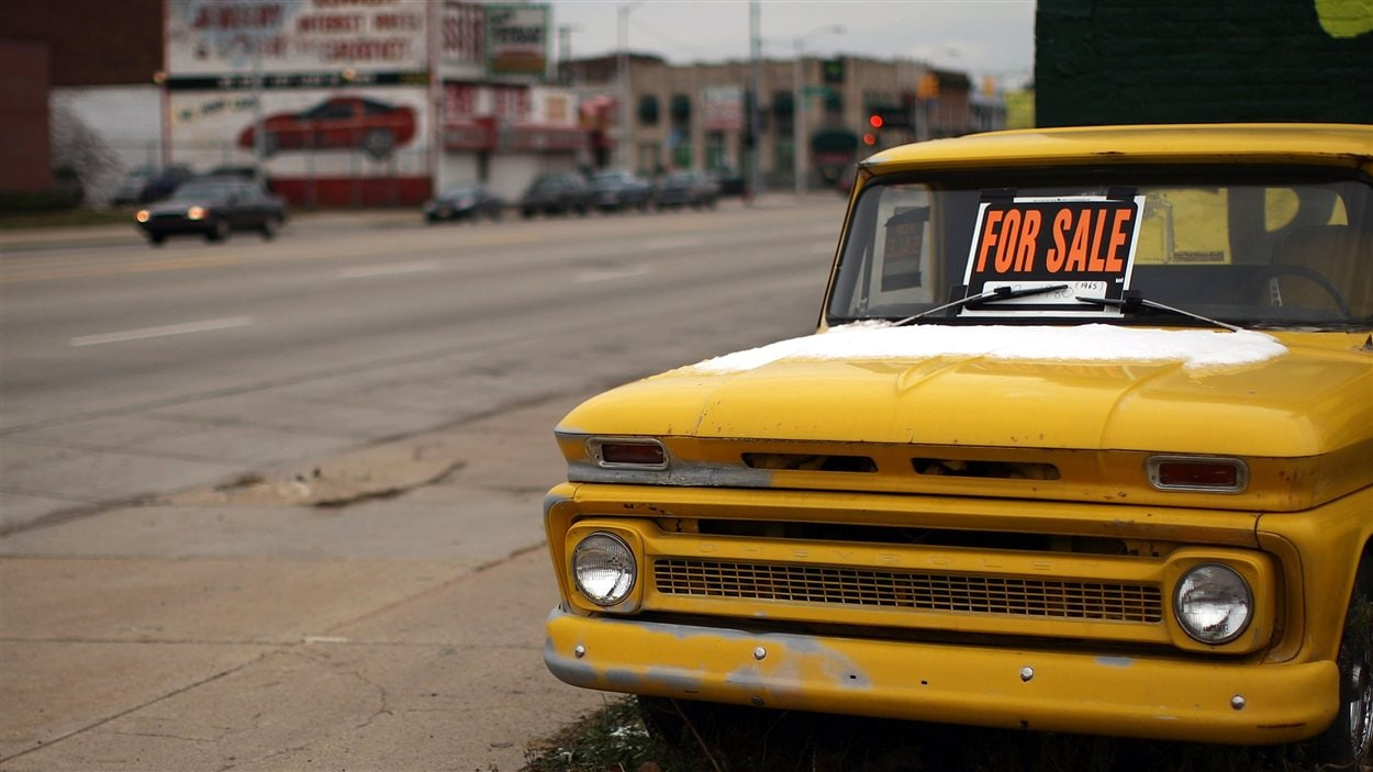 Voiture à vendre à Détroit