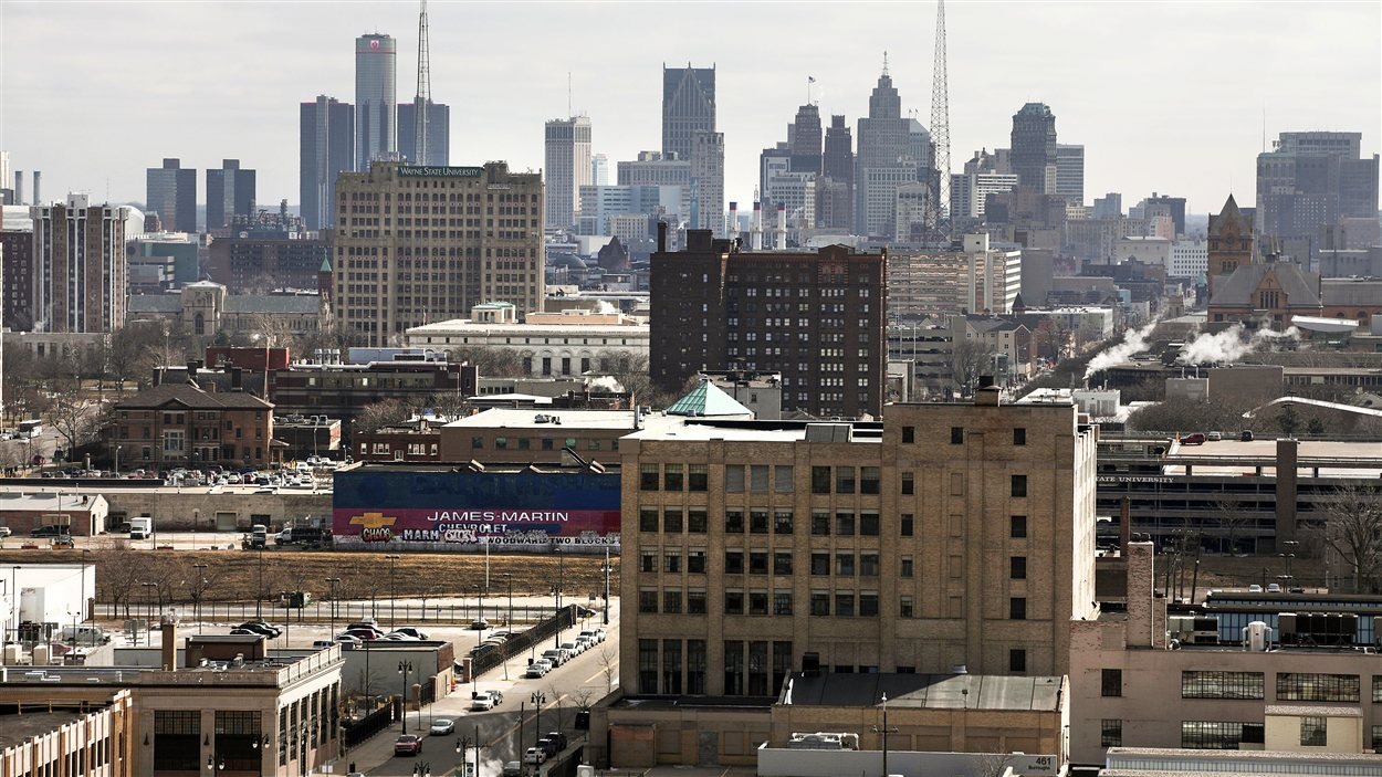 Le centre-ville de Détroit (archives)