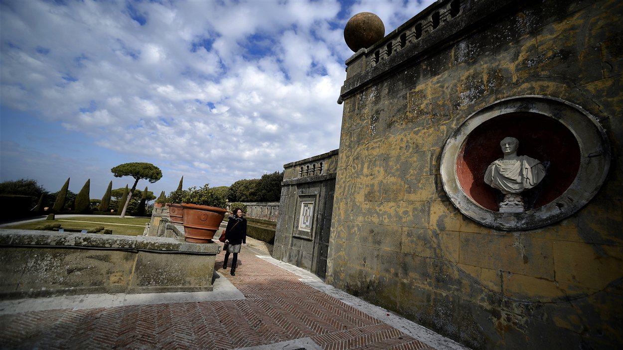 Jardins de la résidence d'été des papes à Castel Gandolfo