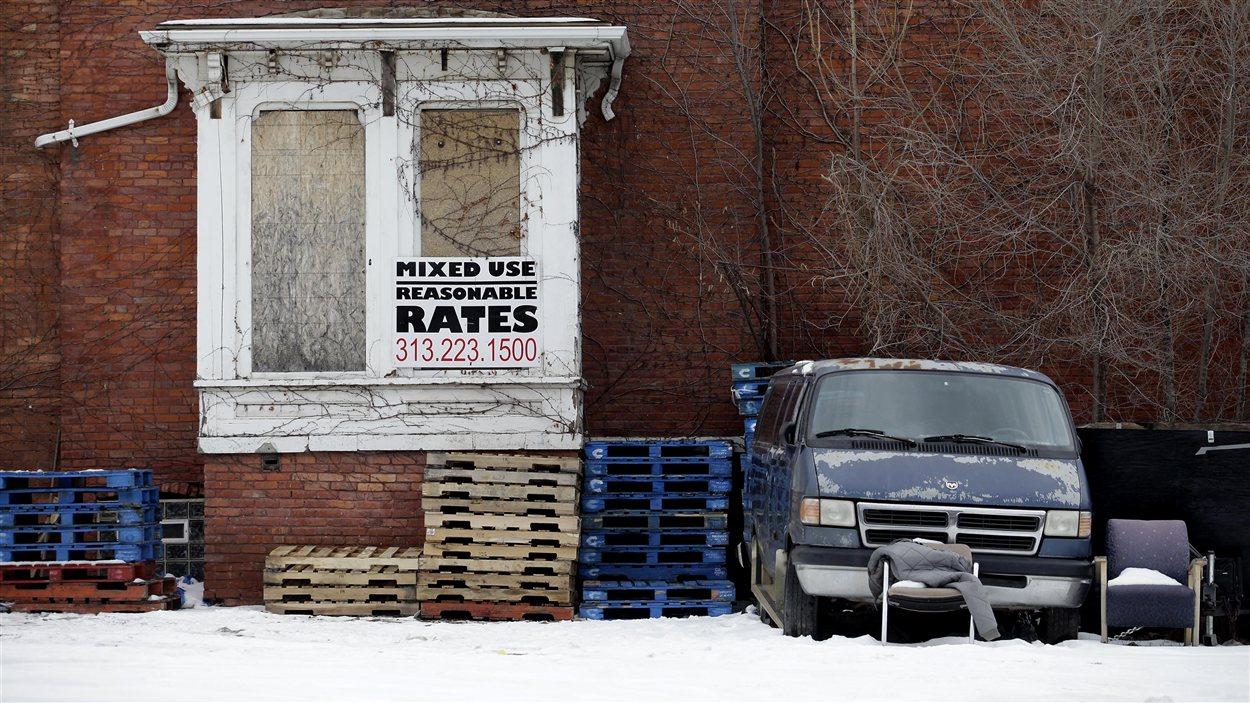 Maison abandonnée à Détroit (archives)