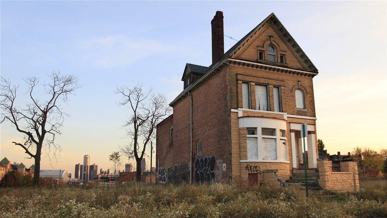 Maison abandonnée à Détroit
