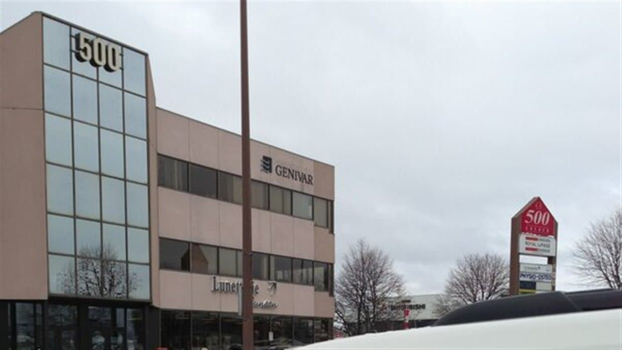 Le Bureau de la concurrence du Canada s'est présenté chez Genivar à Gatineau.