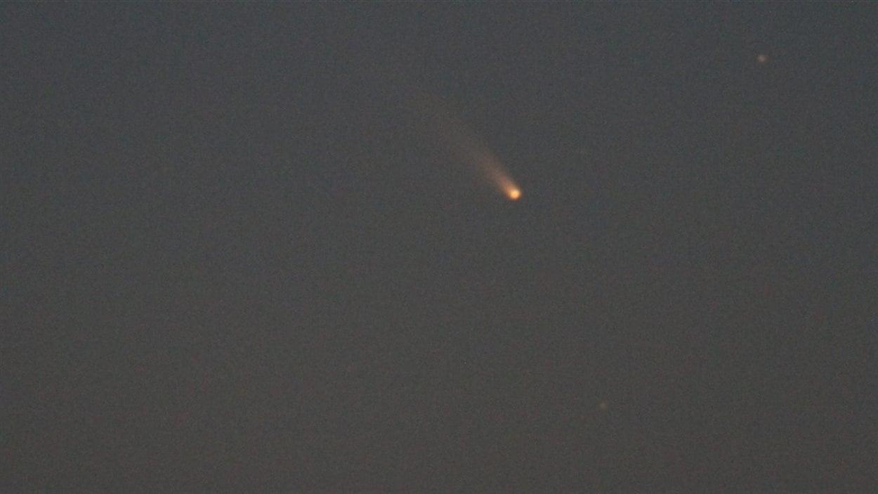 La comète Pan-Starrs dans le ciel de Bridgetown, Australie.