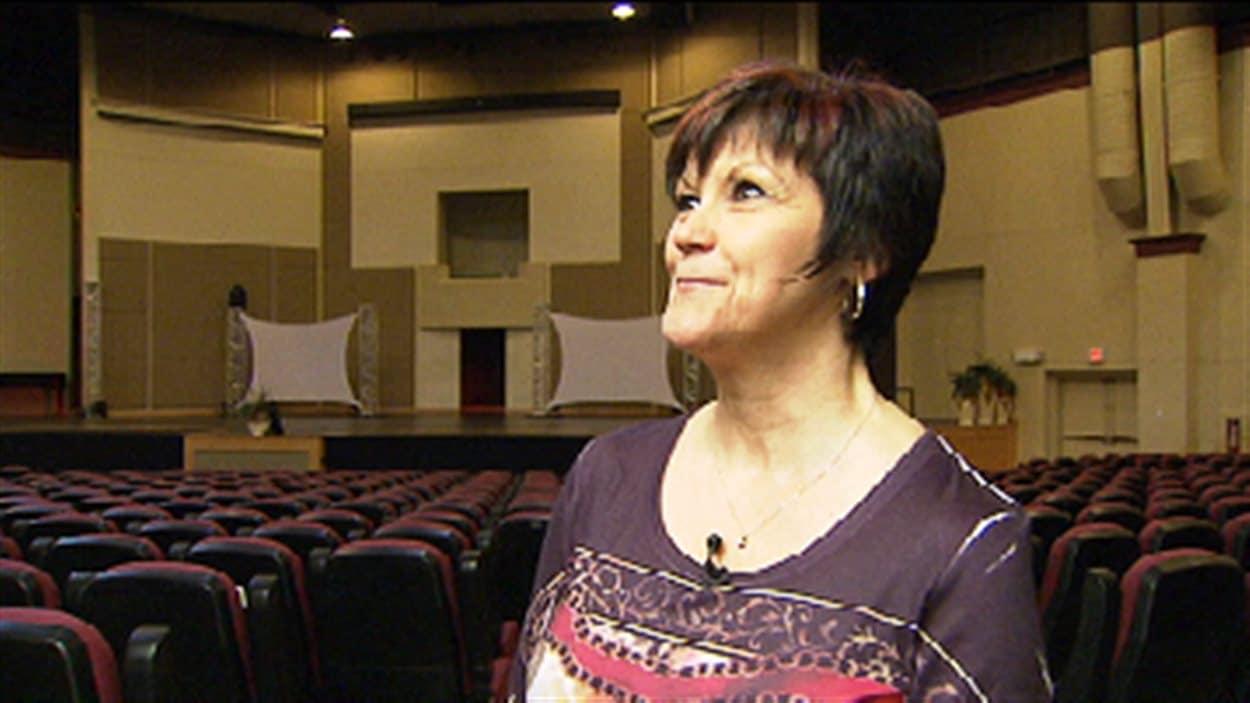 Huguette Bain, bénévole et membre de l'Église wesleyenne à Moncton