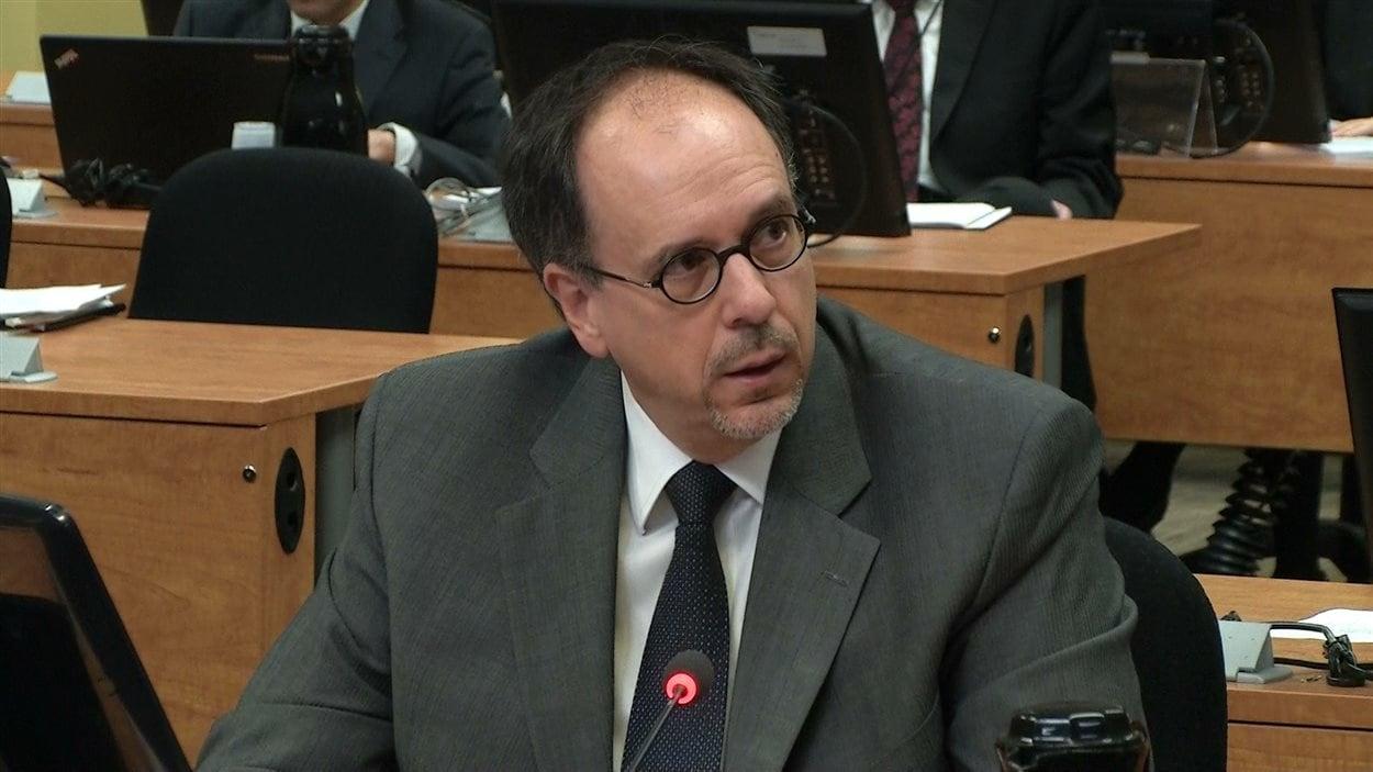 Claude Léger, ex-directeur-général de la Ville de Montréal