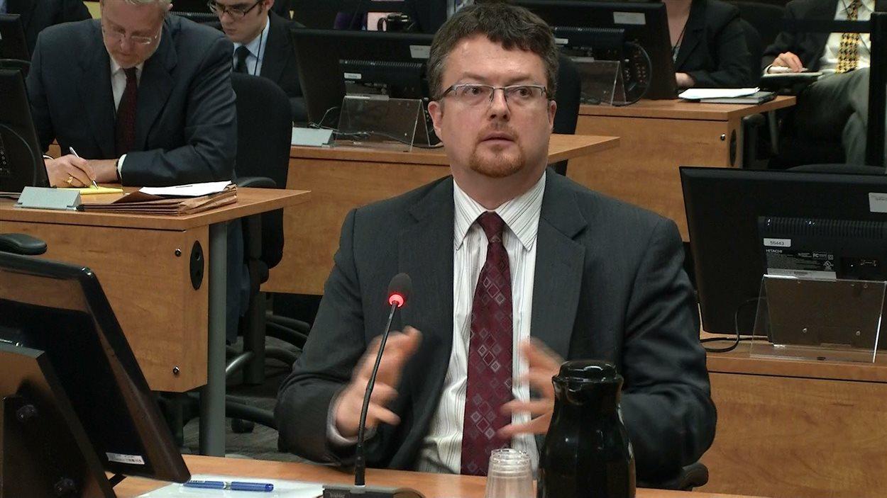 Le vice-président principal de la firme de génie-conseil SNC-Lavalin, Yves Cadotte
