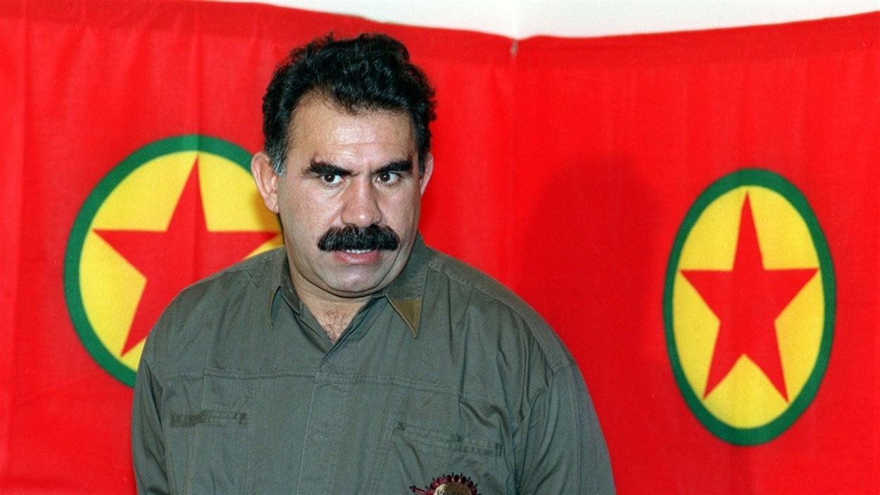 Le chef de la rébellion kurde Abdullah Öcalan (archives)