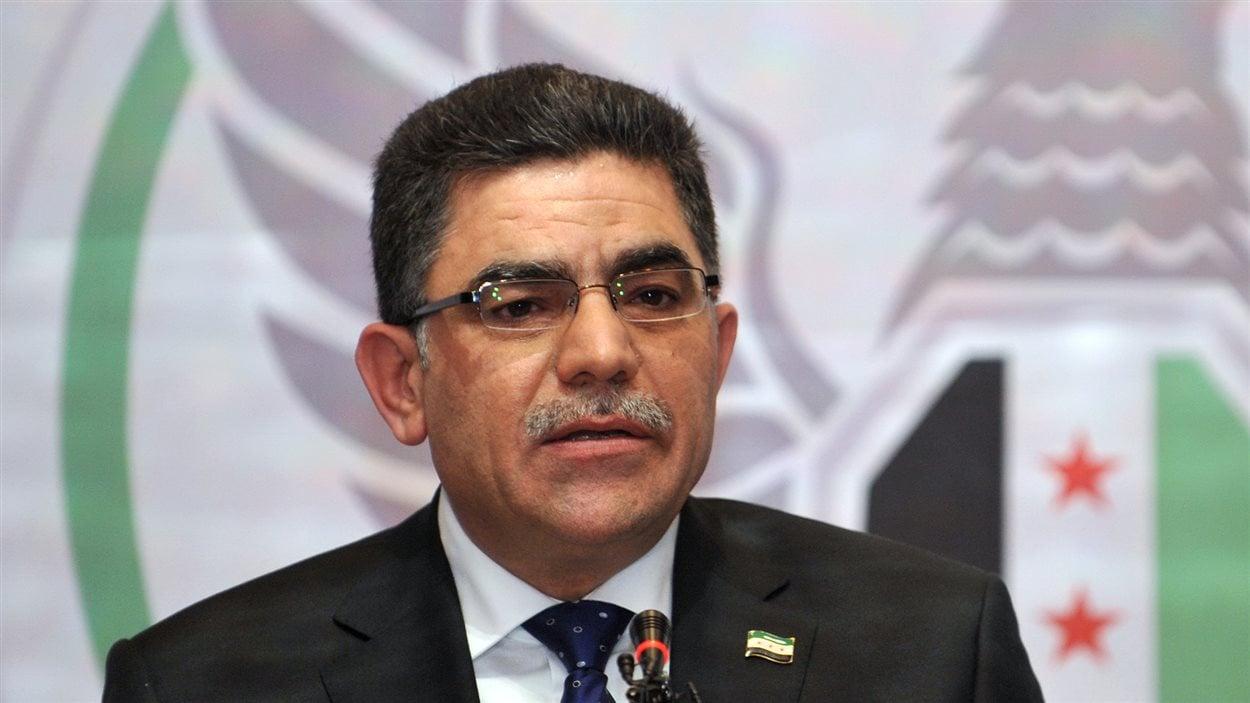 Le nouveau premier ministre de la Coalition nationale syrienne, Ghassan Hitto
