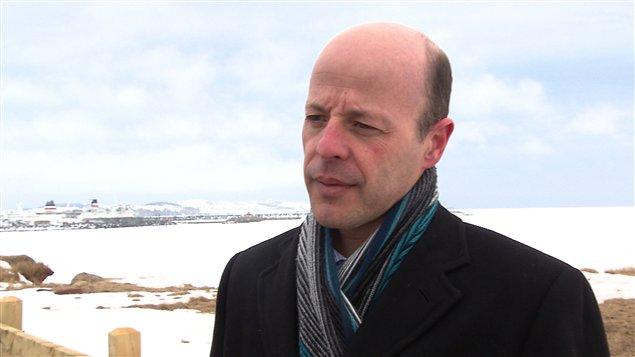 Le maire des Îles-de-la-Madeleine, Joël Arseneau