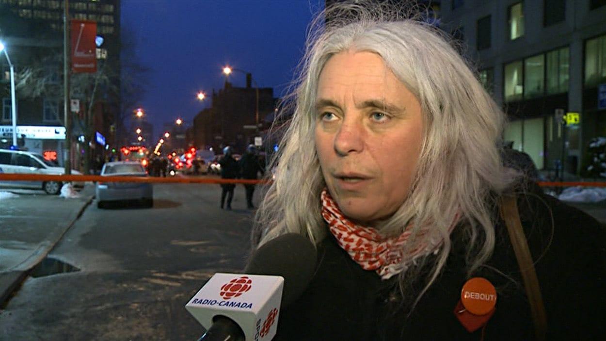 Manon Massé, membre du parti Québec solidaire