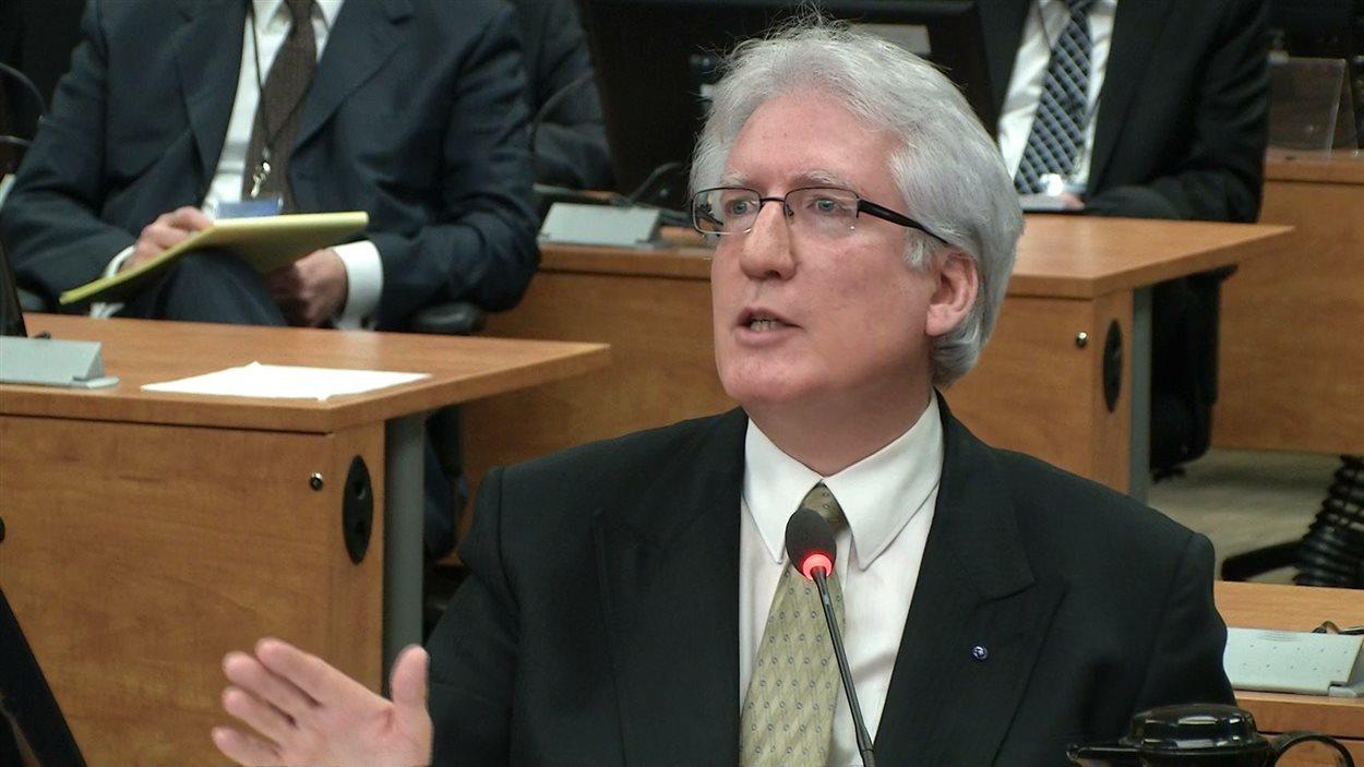 Le représentant officiel d'Union Montréal Marc Deschamps
