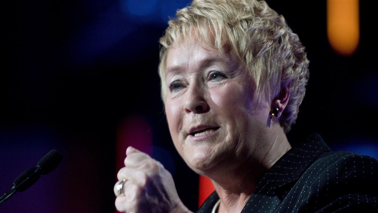 La première ministre du Québec Pauline Marois (archives)