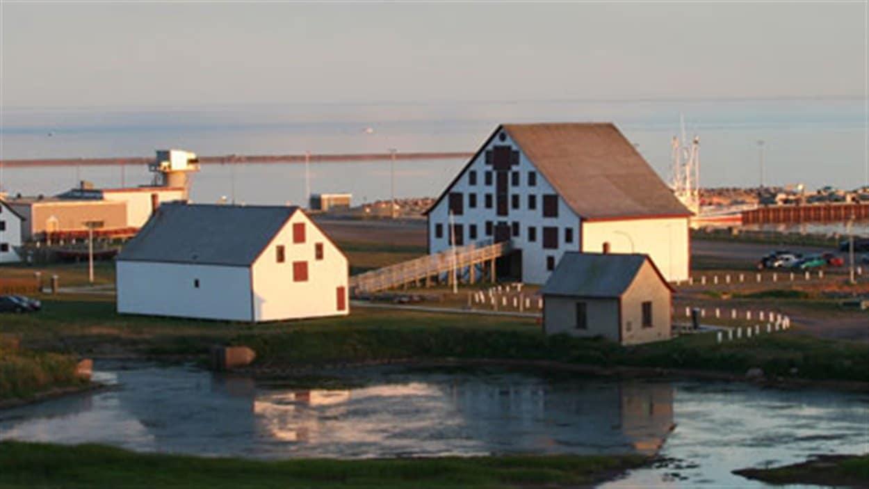 Site historique du Banc-de-pêche de Paspébiac.
