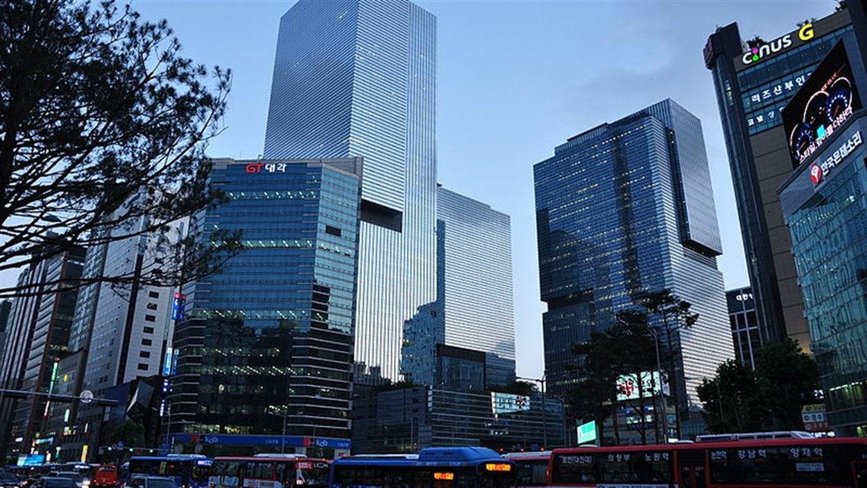 Le siège social de Samsung