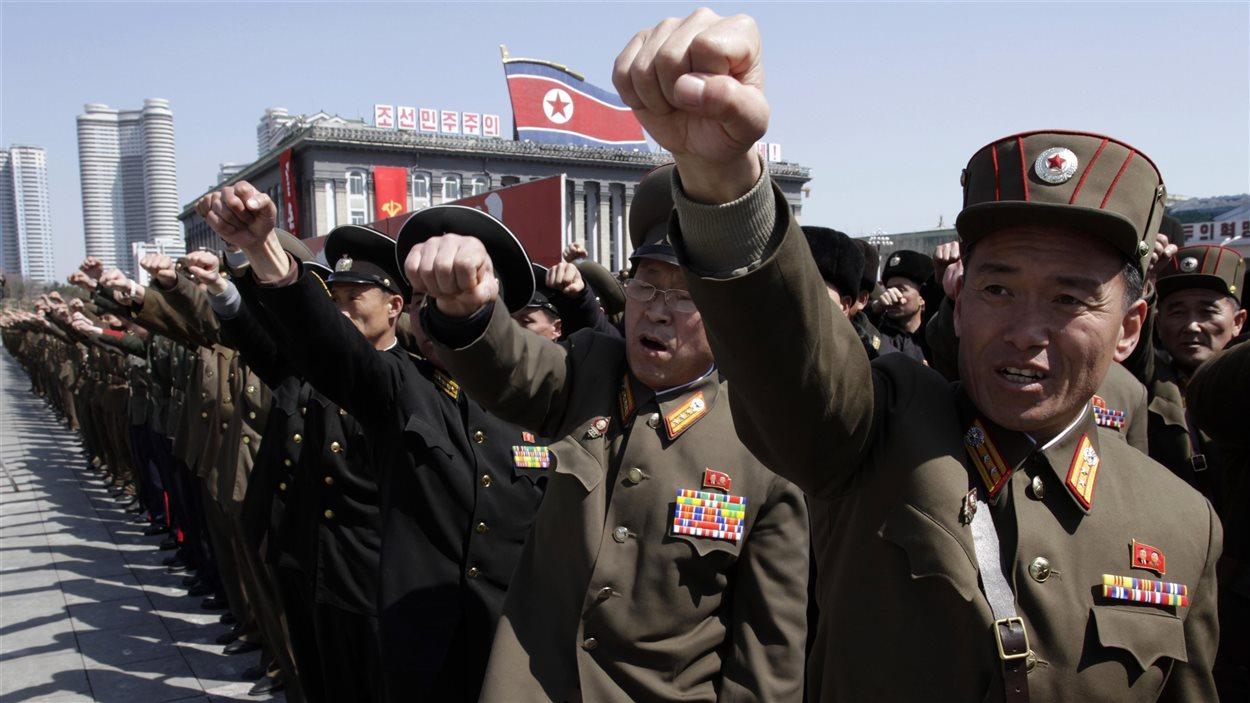 Des militaires nord-coréens