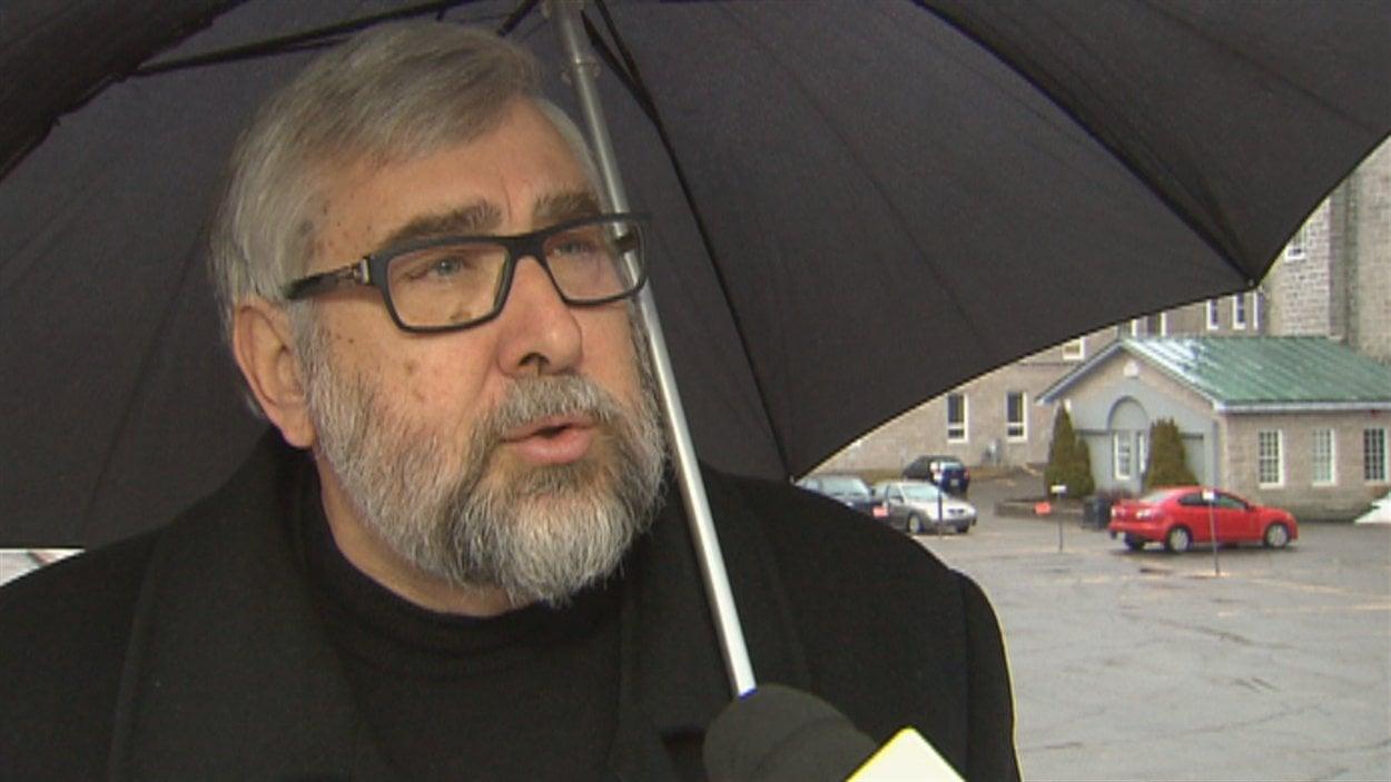 Le conseiller de Québec autrement, Yvon Bussières