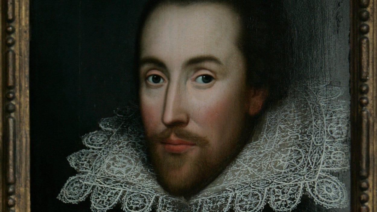 Un portrait de William Shakespeare