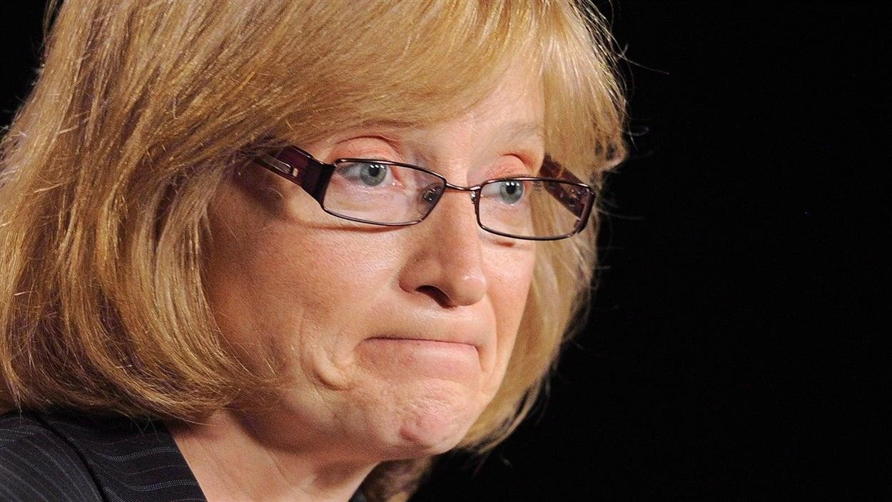 La commissaire fédérale à l'information Suzanne Legault.