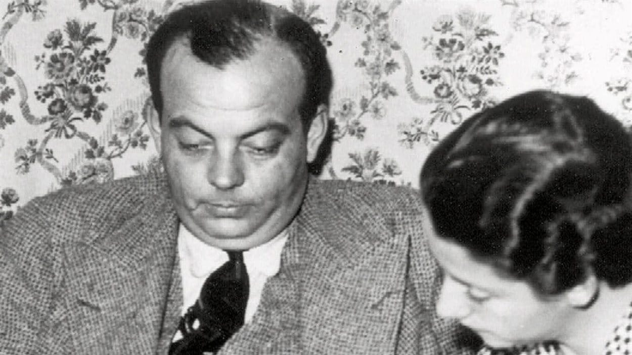 Antoine de Saint-Exupéry et sa femme en 1936