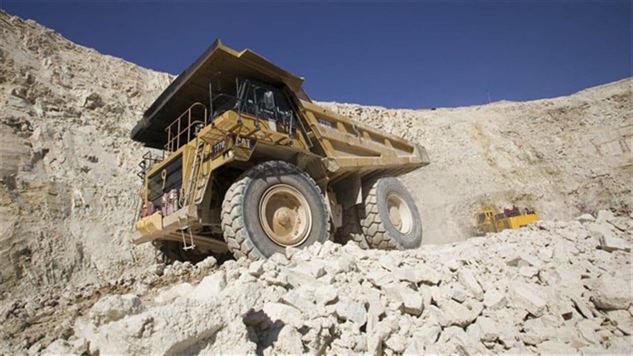 Une mine d'uranium canadienne (archives)