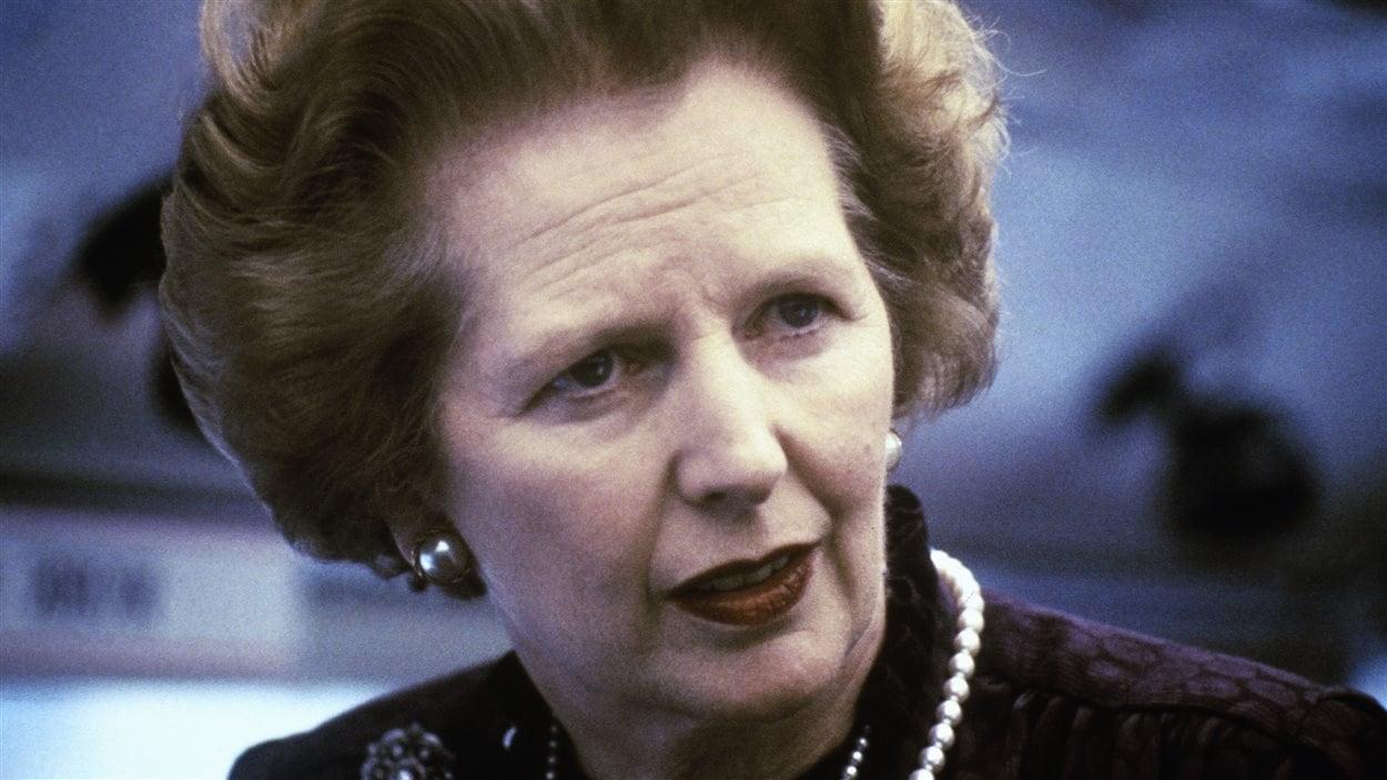 Margaret Thatcher, surnommée la Dame de fer, en 1969