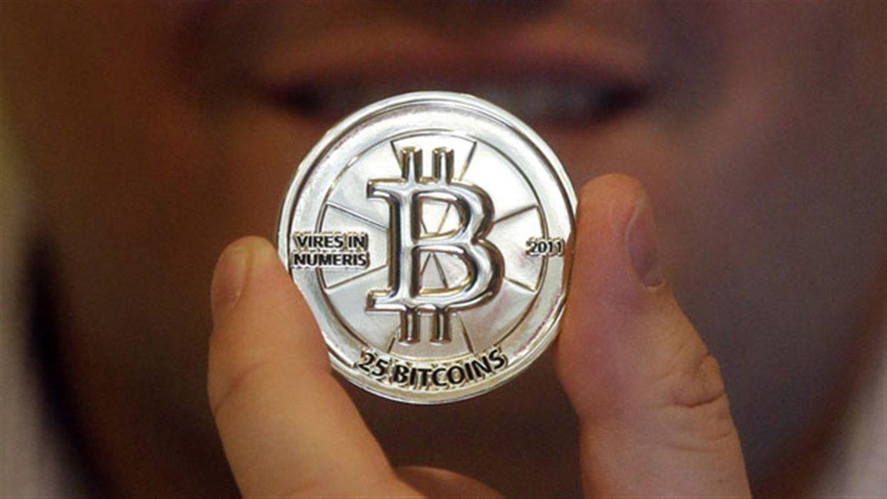Une version « physique » de la monnie virtuelle bitcoin