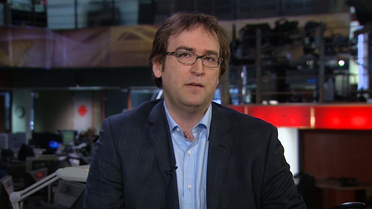 Louis Sénécal, directeur général de l'Association québécoise des CPE en entrevue à RDI le 13 avril 2013