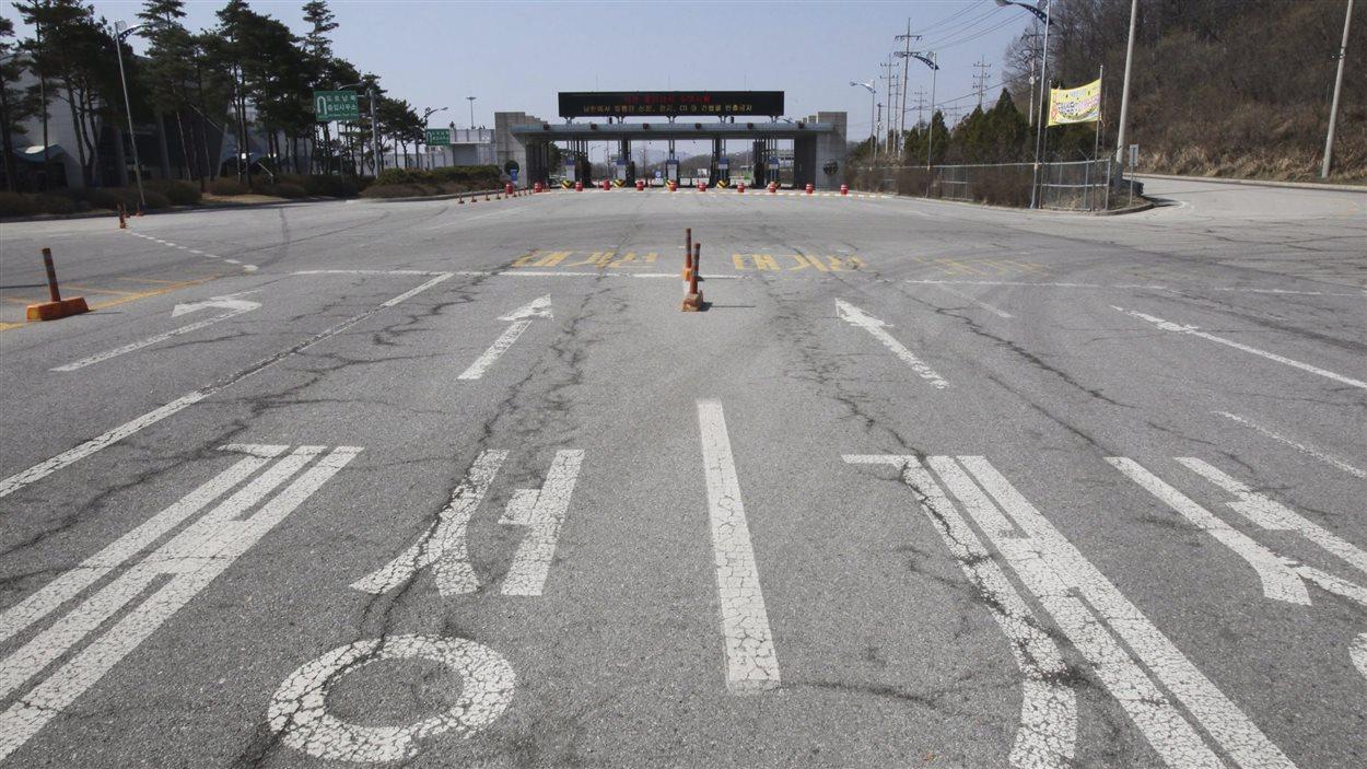 Les accès vers le complexe industriel Kaesong sont fermés.