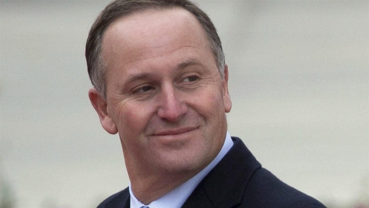 Le premier ministre de Nouvelle-Zélande John Key
