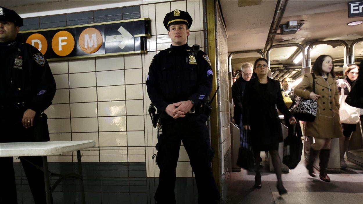 Sécurité accrue dans le métro de New York