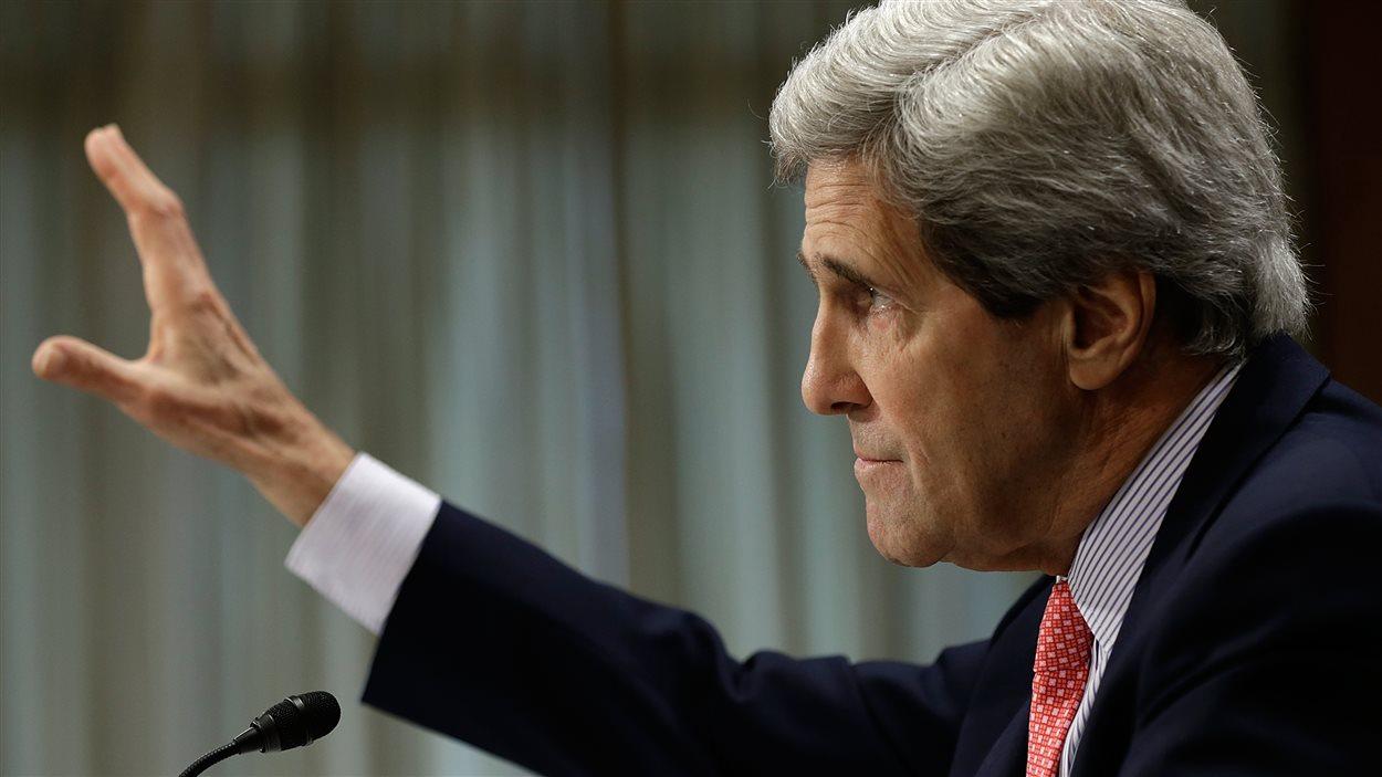 John Kerry , secrétaire d'État américain
