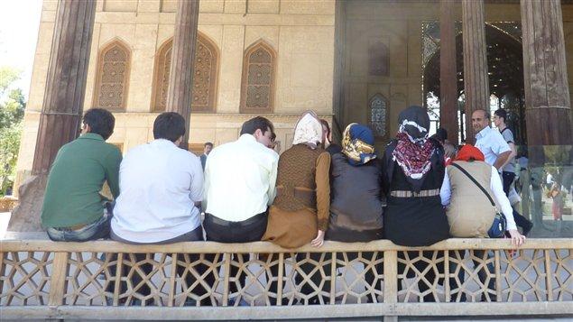 Scène de la vie quotidienne en Iran