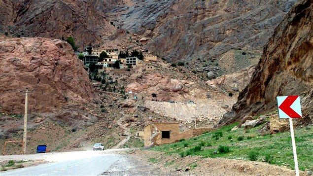 Le village de Chak Chak, perdu dans le désert