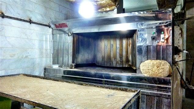 Une boulangerie de Téhéran