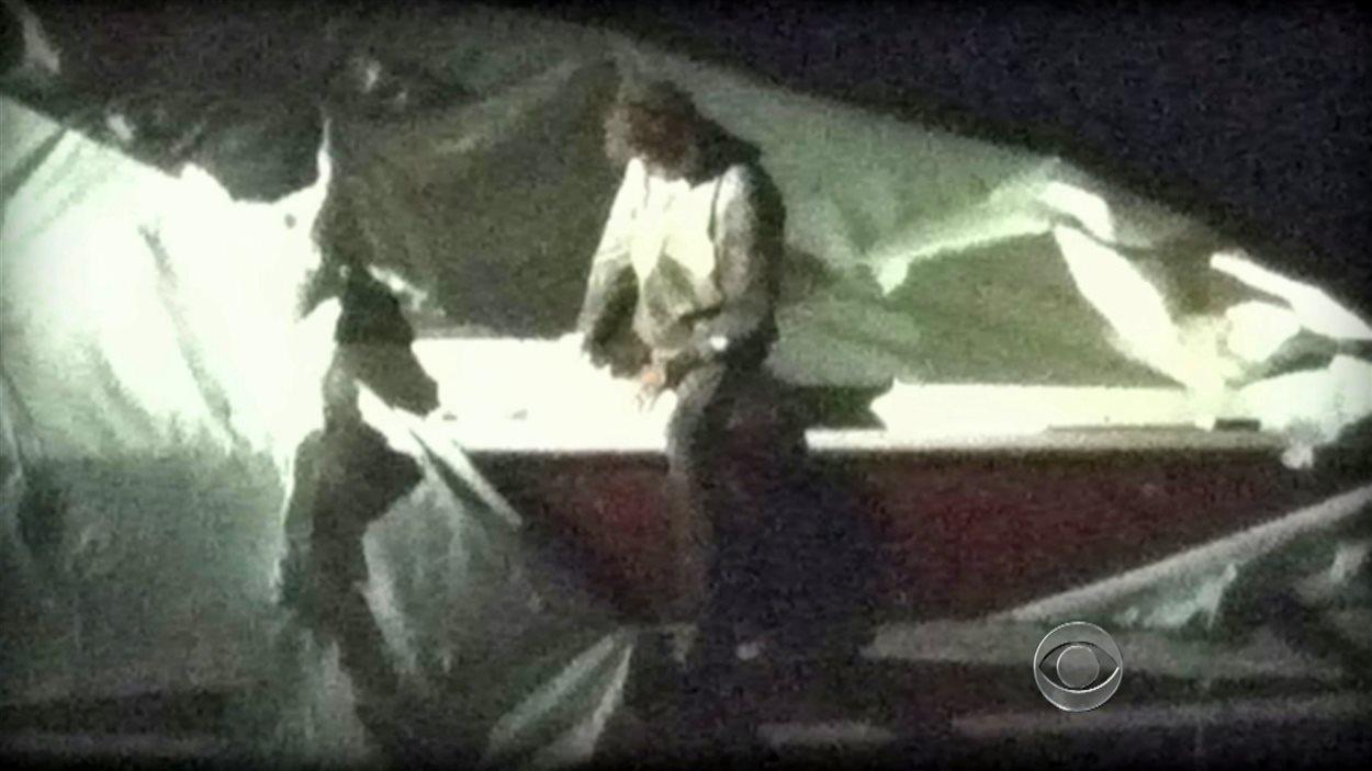 Dzhokhar Tsarnaev peu avant sa capture