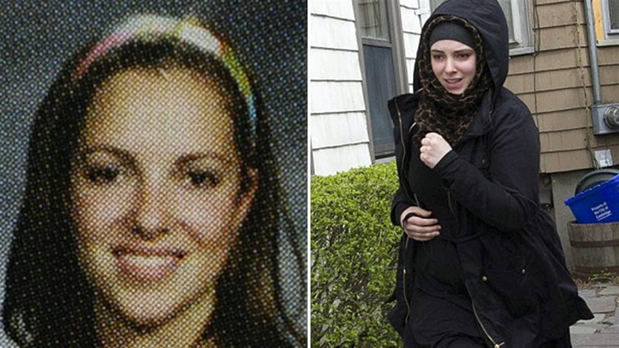 L'épouse de Tamerlan Tsarnaev, Catherine Tsarnaev.