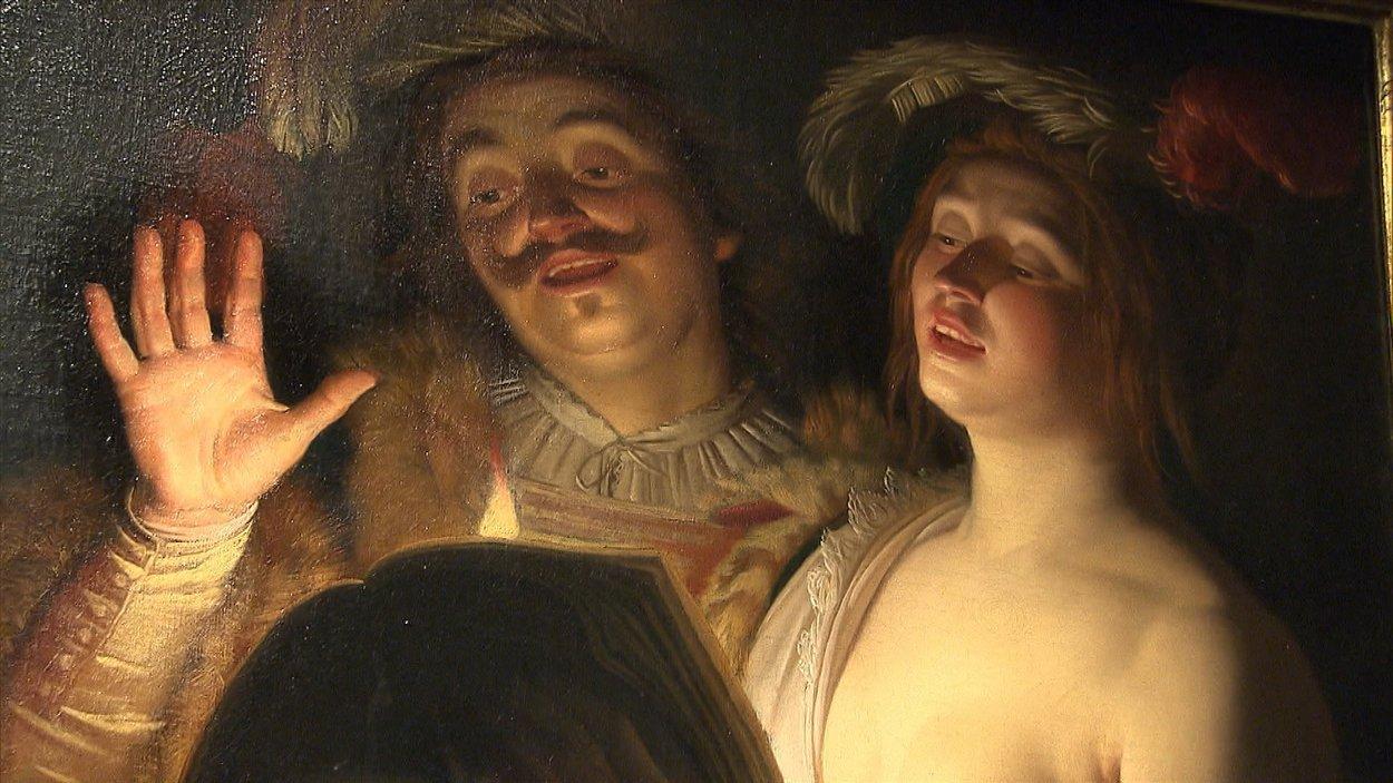 Le duo, une oeuvre de Gerrit van Honthorst
