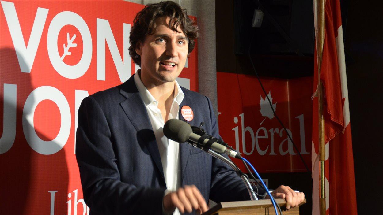 Le chef du Parti libéral du Canada (PLC), Justin Trudeau