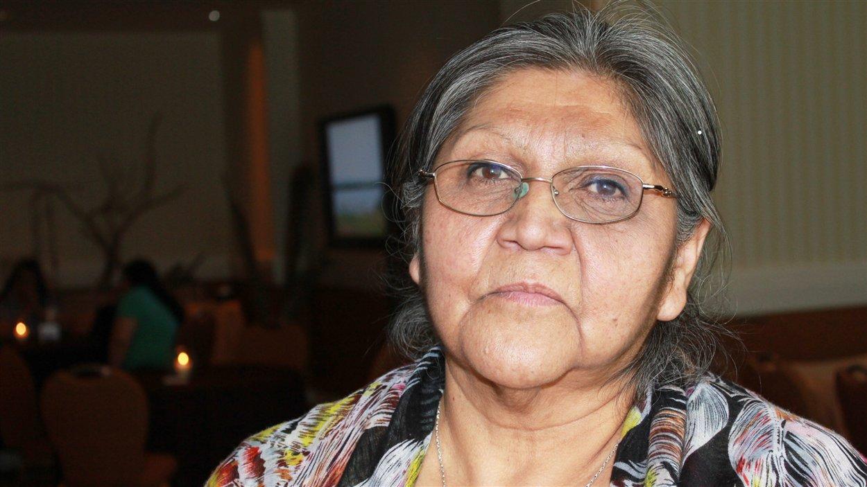 Lucie Basile, survivante du pensionnat d'Amos de et Pointe bleue.