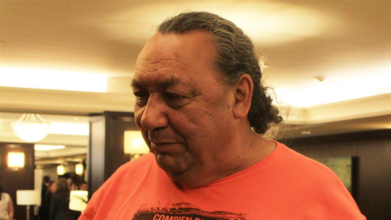Richard, survivant d'un pensionnat autochtone.